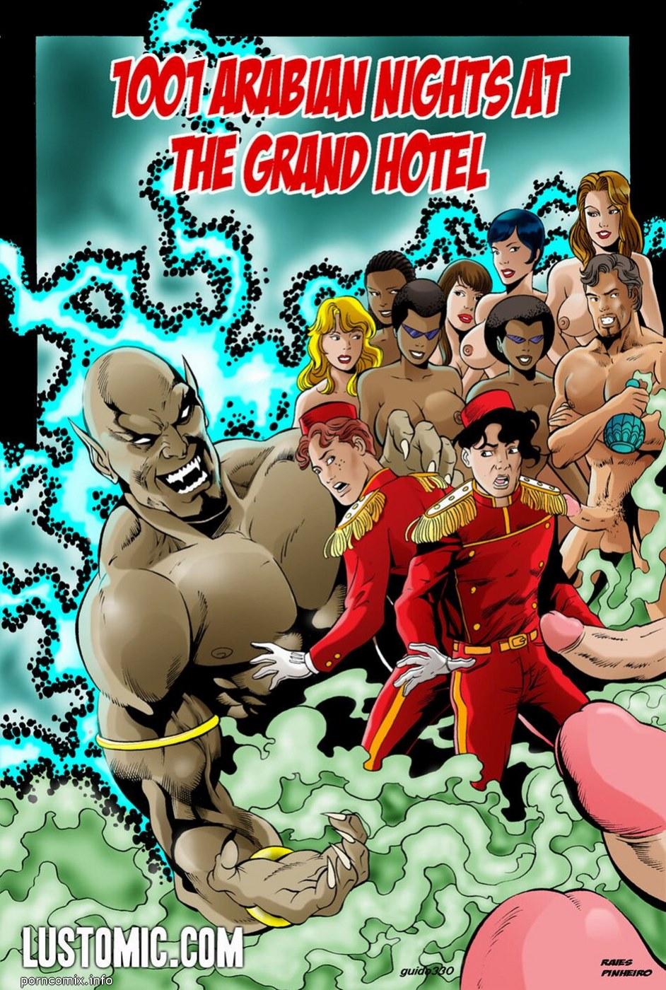 Porn Comics - 1001 Arabian Nights At The Grand Hotel porn comics 8 muses