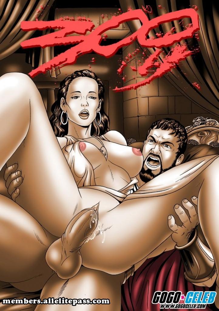 Porn Comics - 300 Spartans- GoGo Celeb porn comics 8 muses