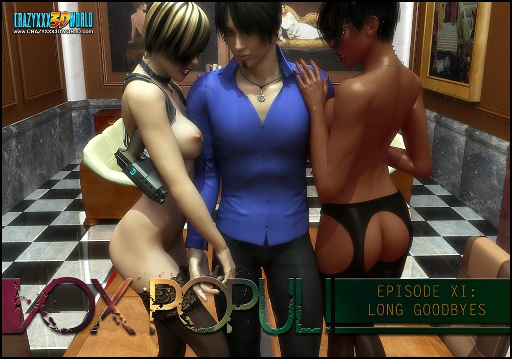 Porn Comics - Vox Populi 11- Crazyxxx3D World porn comics 8 muses