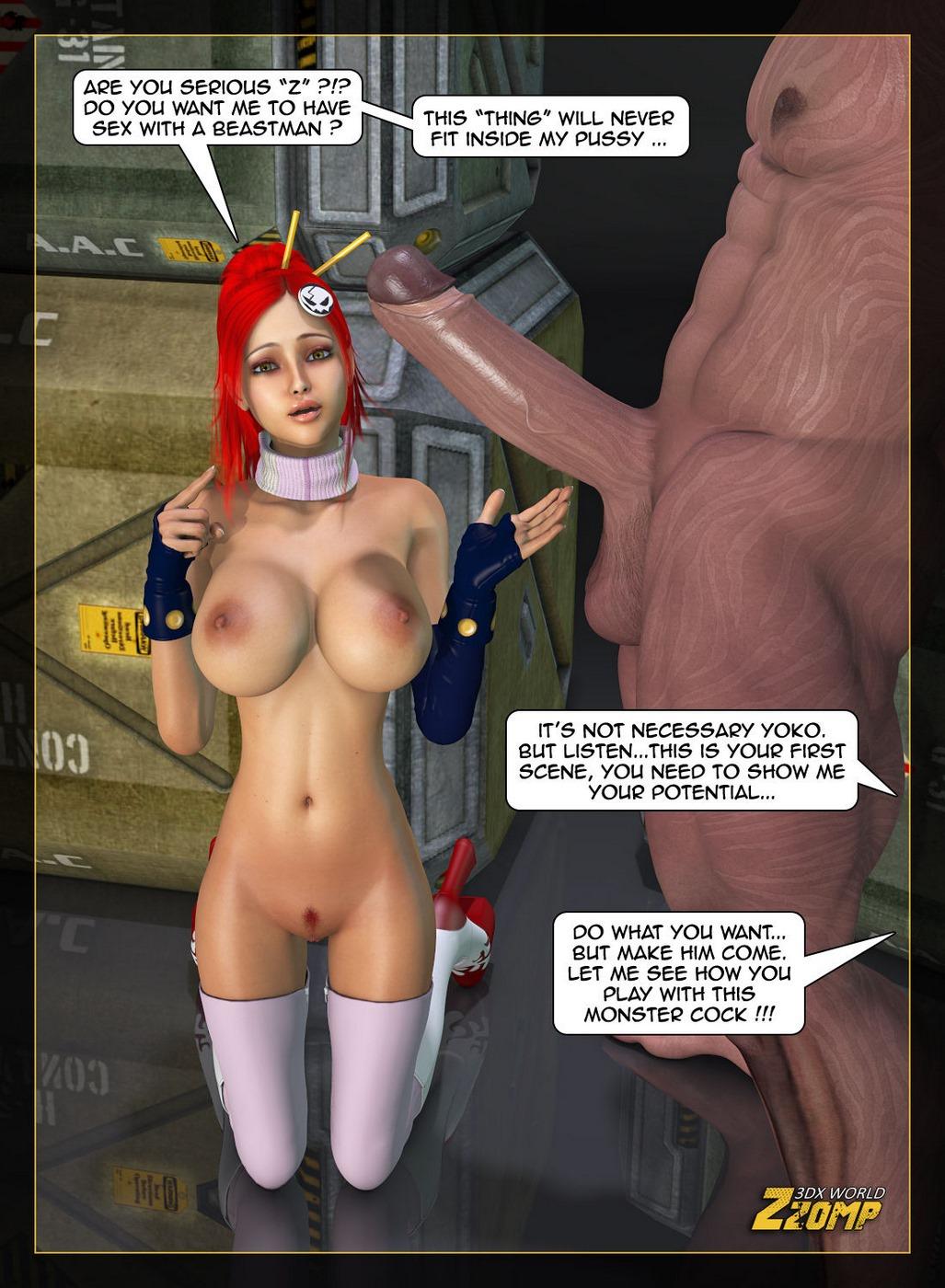 Beastman 3D Porn zzomp 3dx- introducing yoko porn comics 8 muses
