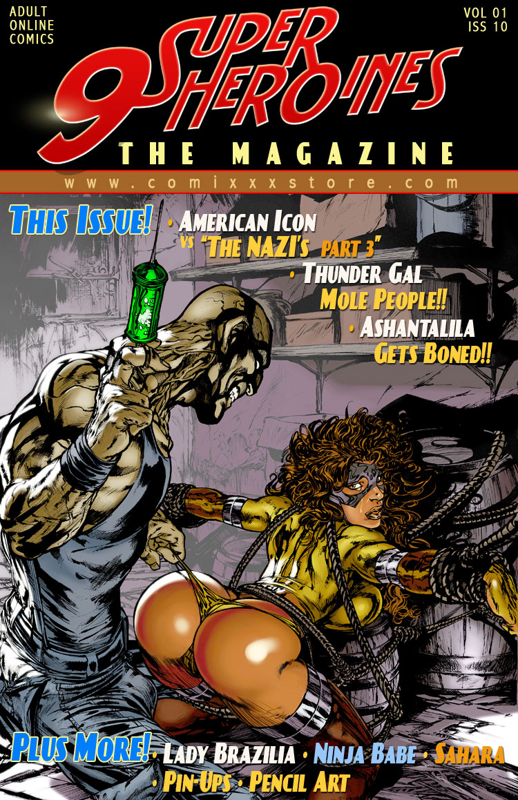 Porn Comics - 9 Super Heroines- The Magazine 10 porn comics 8 muses