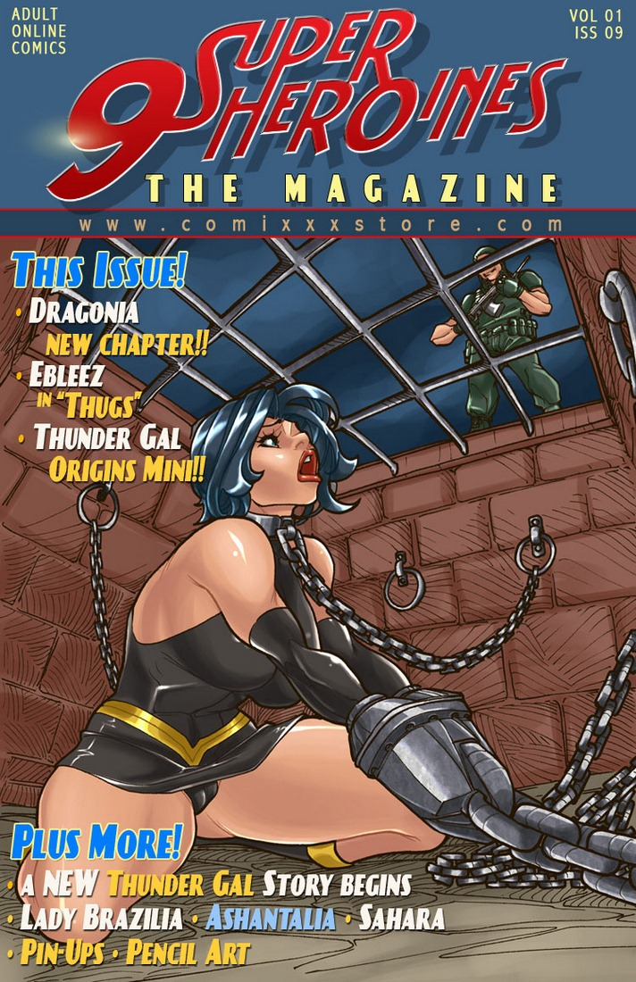 9 Super Heroines – The Magazine 9 image 01