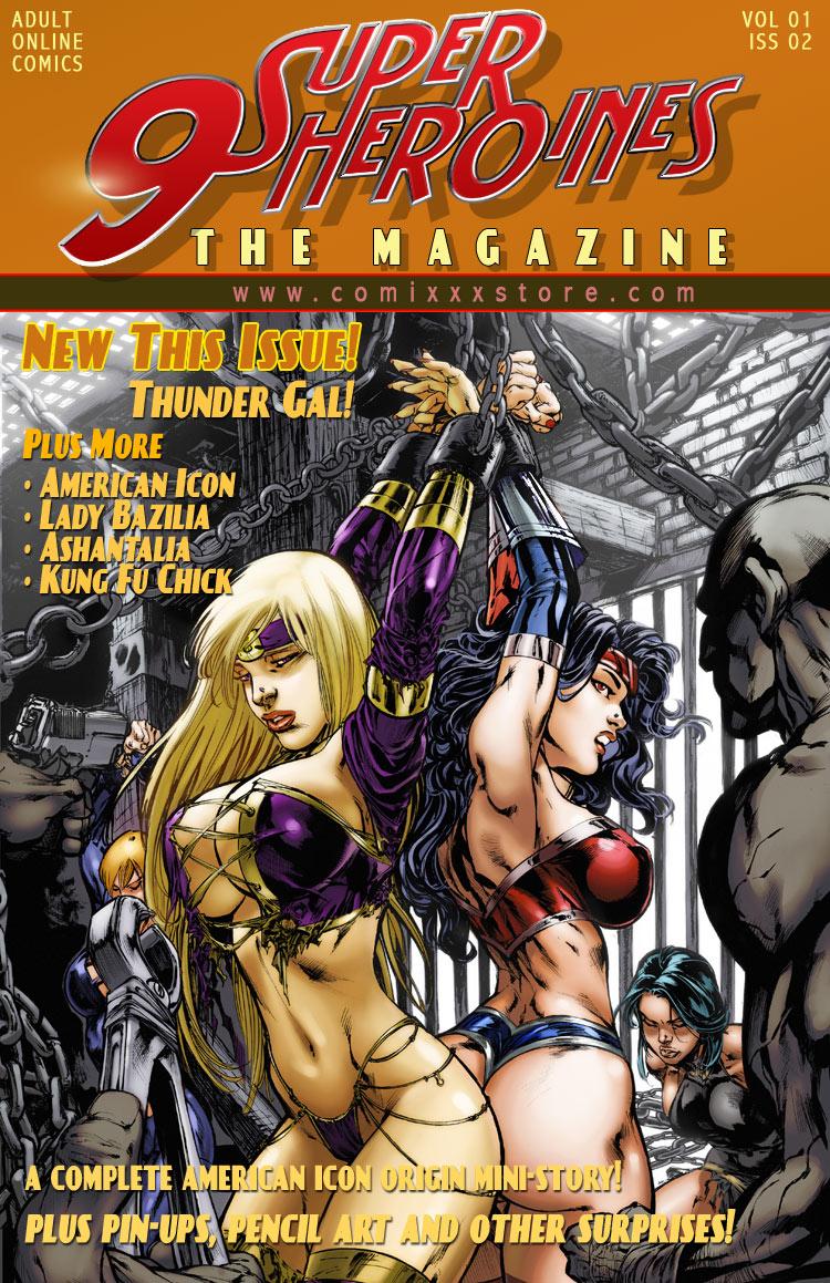 Porn Comics - 9 Super Heroines -The Magazine 2 porn comics 8 muses