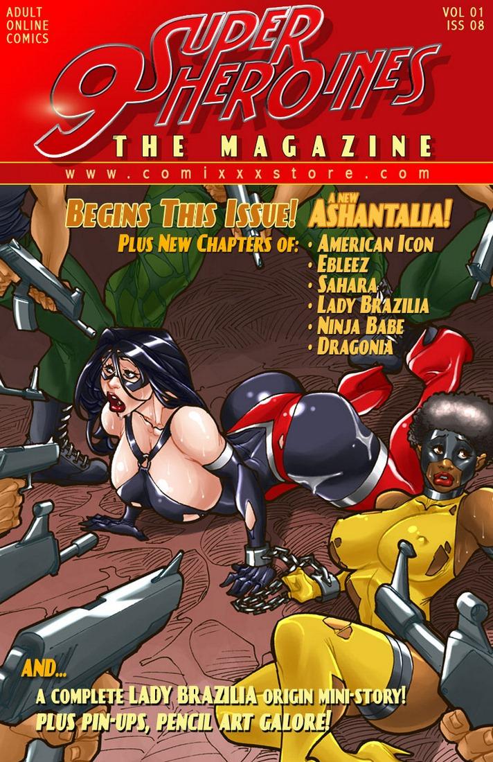 9 Super Heroines – The Magazine 8 image 01