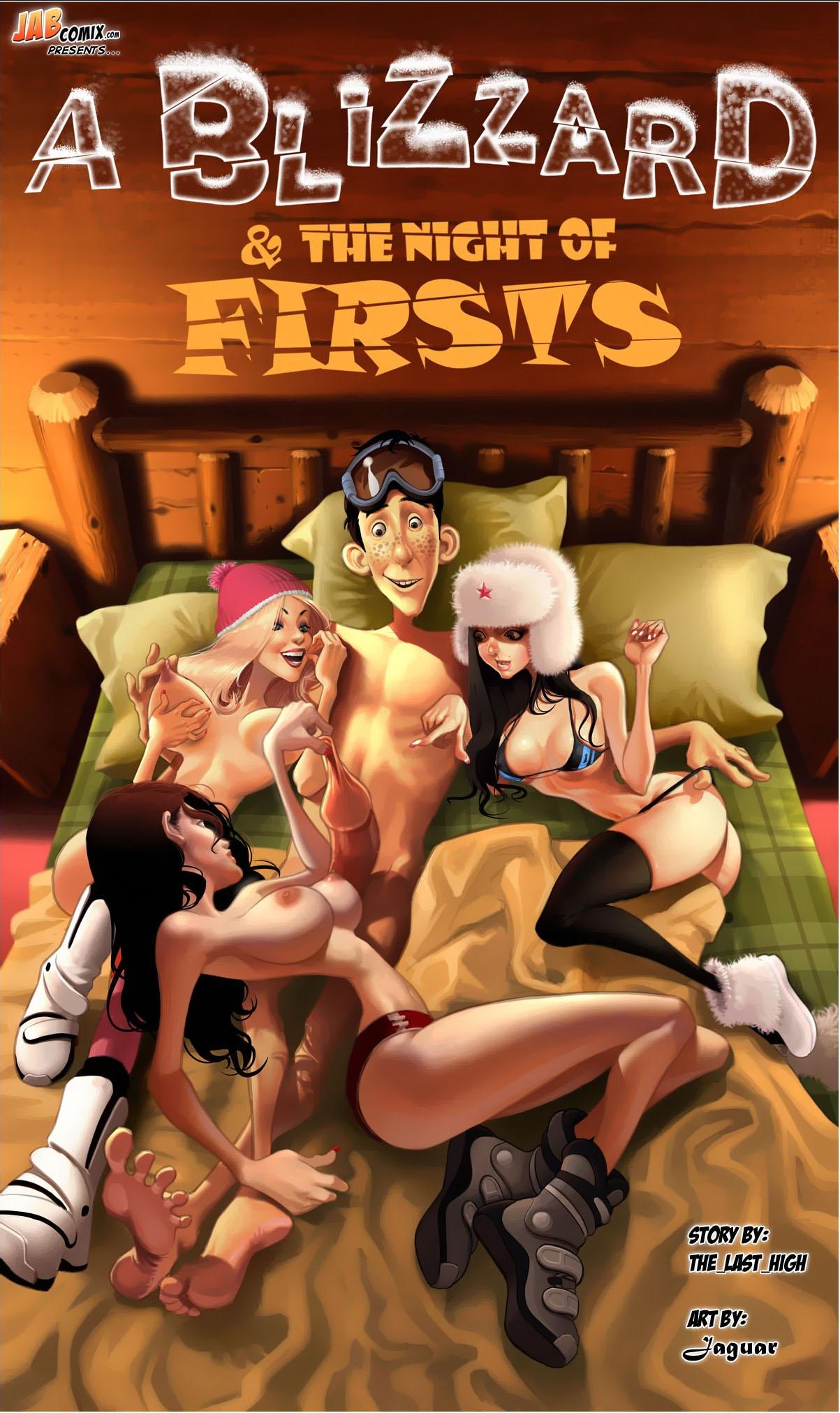 Porn Comics - A Blizzard & Night of Firsts porn comics 8 muses