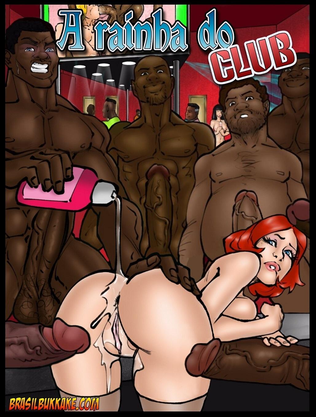 Porn Comics - A Rainha do Club- Brasilbukkake porn comics 8 muses
