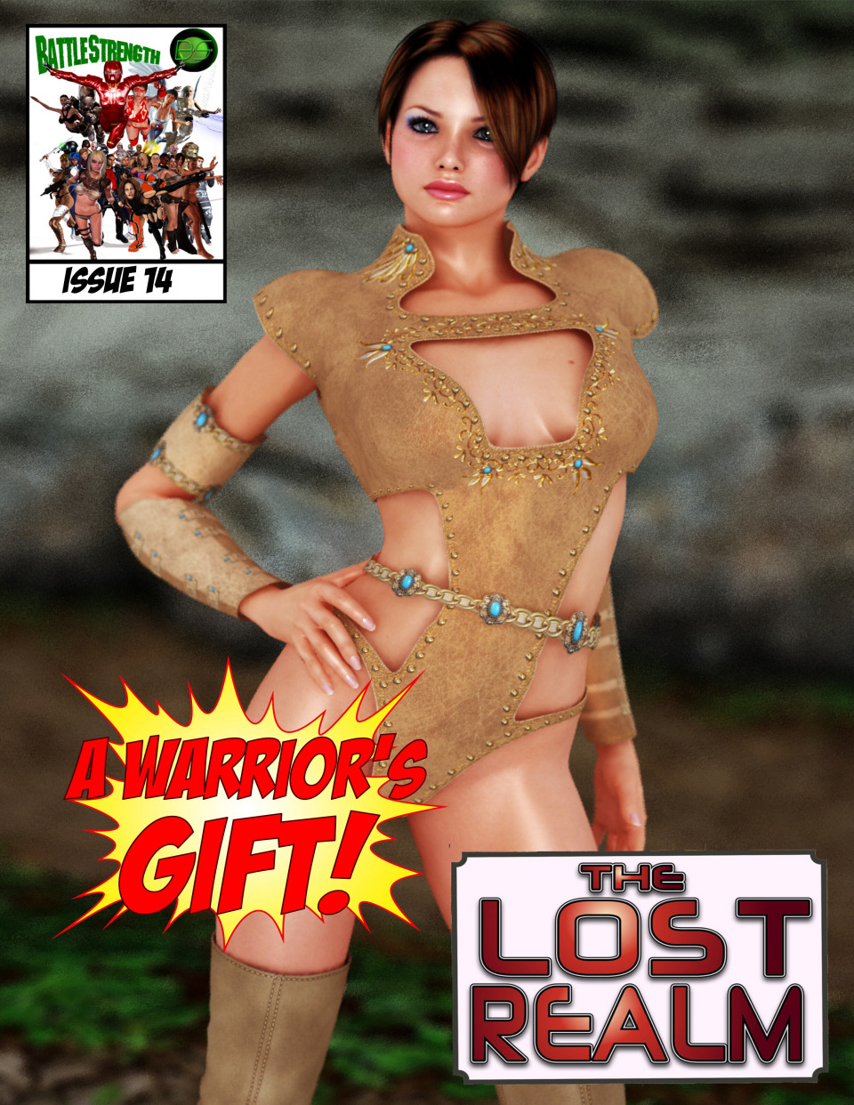 A Warrior's Gift- Lost Realm image 1
