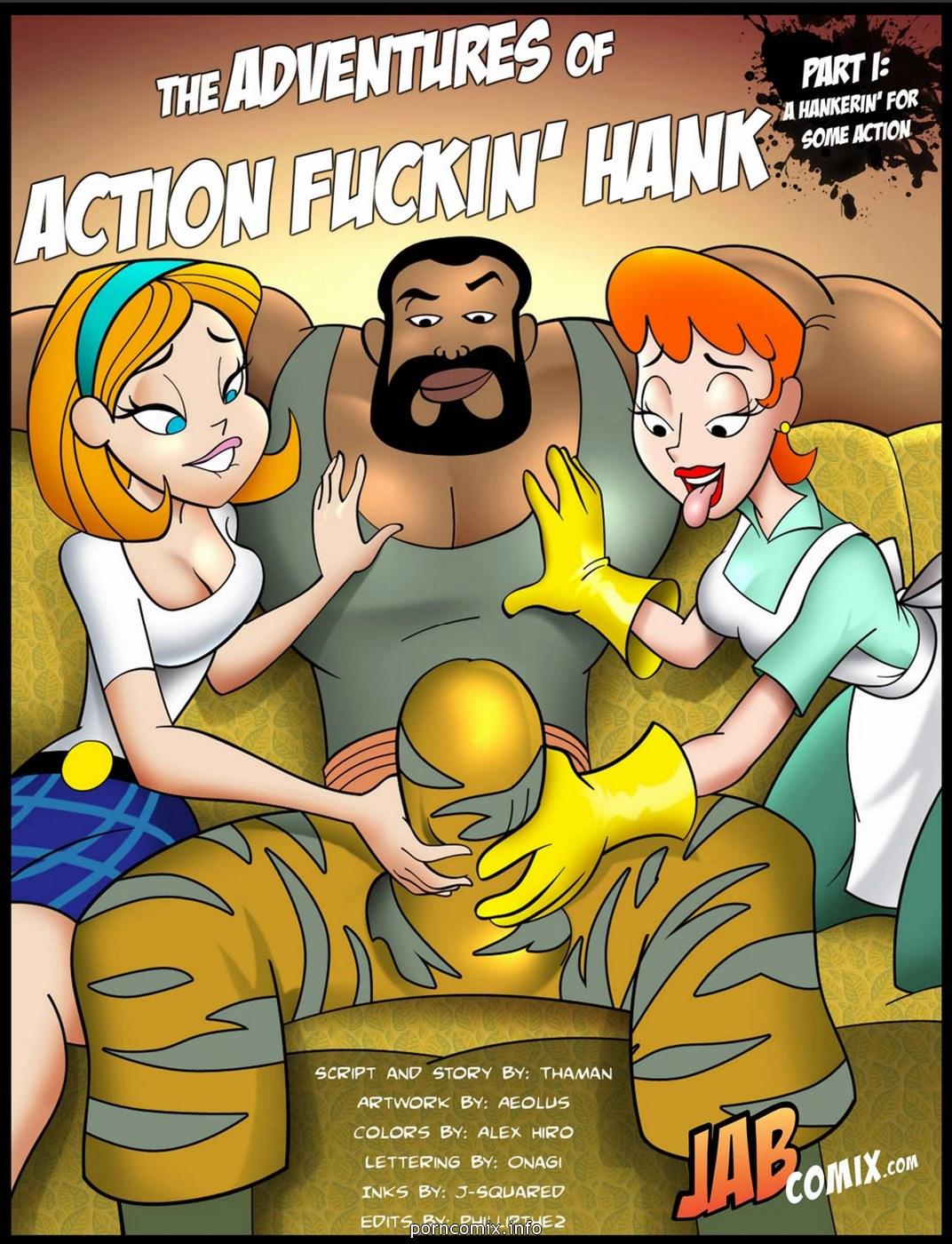 Adventures of Action Fuckin' Hank image 01
