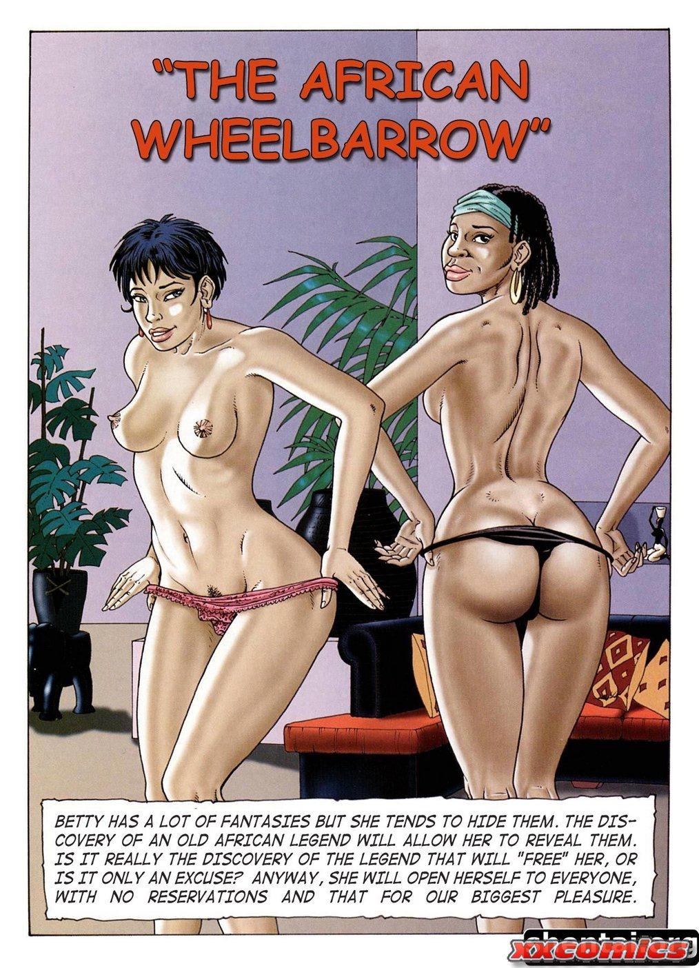 Porn Comics - The African wheelbarrow Clech porn comics 8 muses