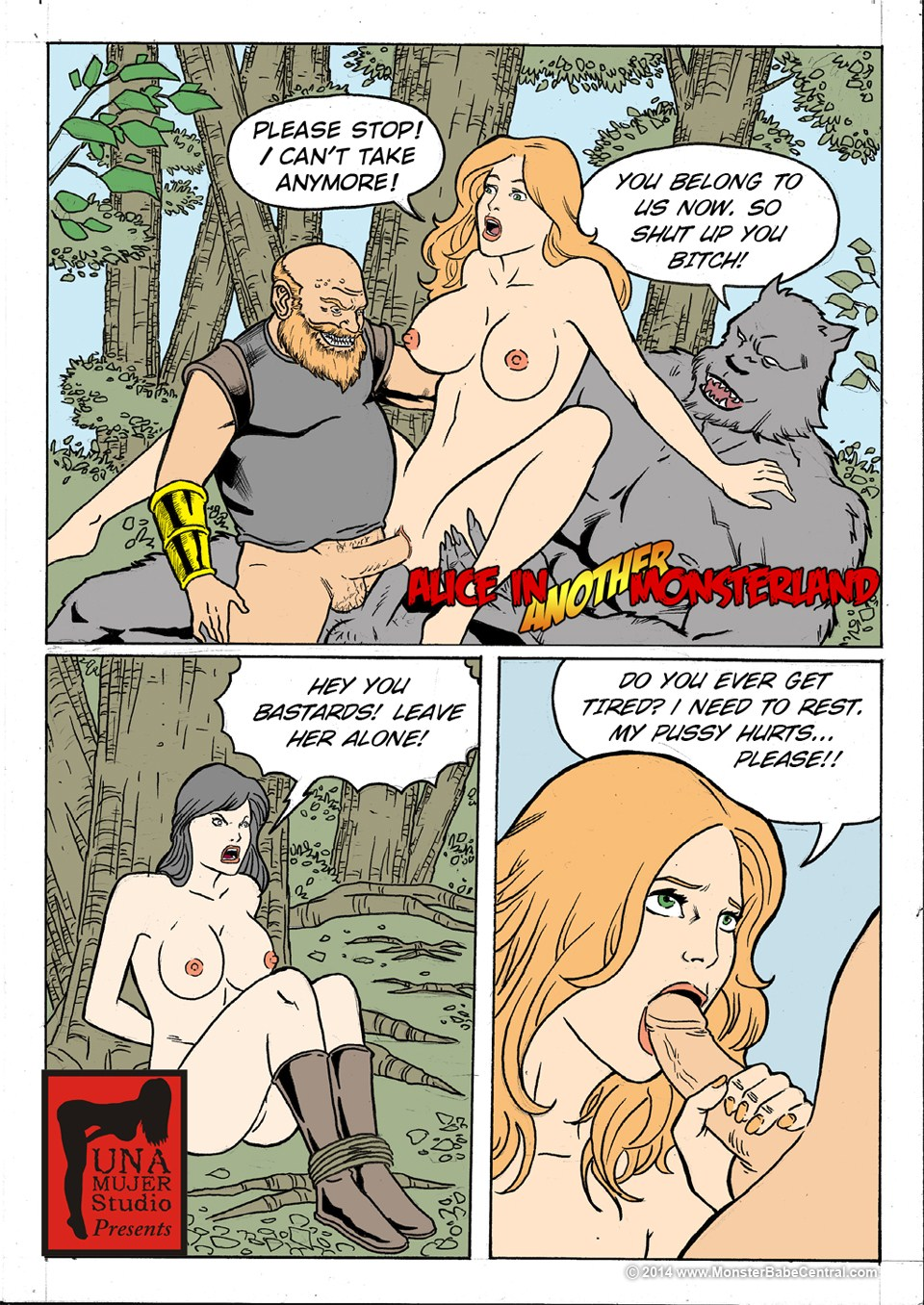 Porn Comics - Alice in Monsterland 15-16 porn comics 8 muses