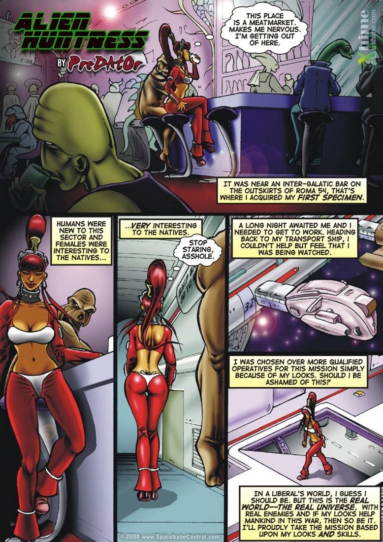 Porn Comics - Alien Huntress 1-5 porn comics 8 muses