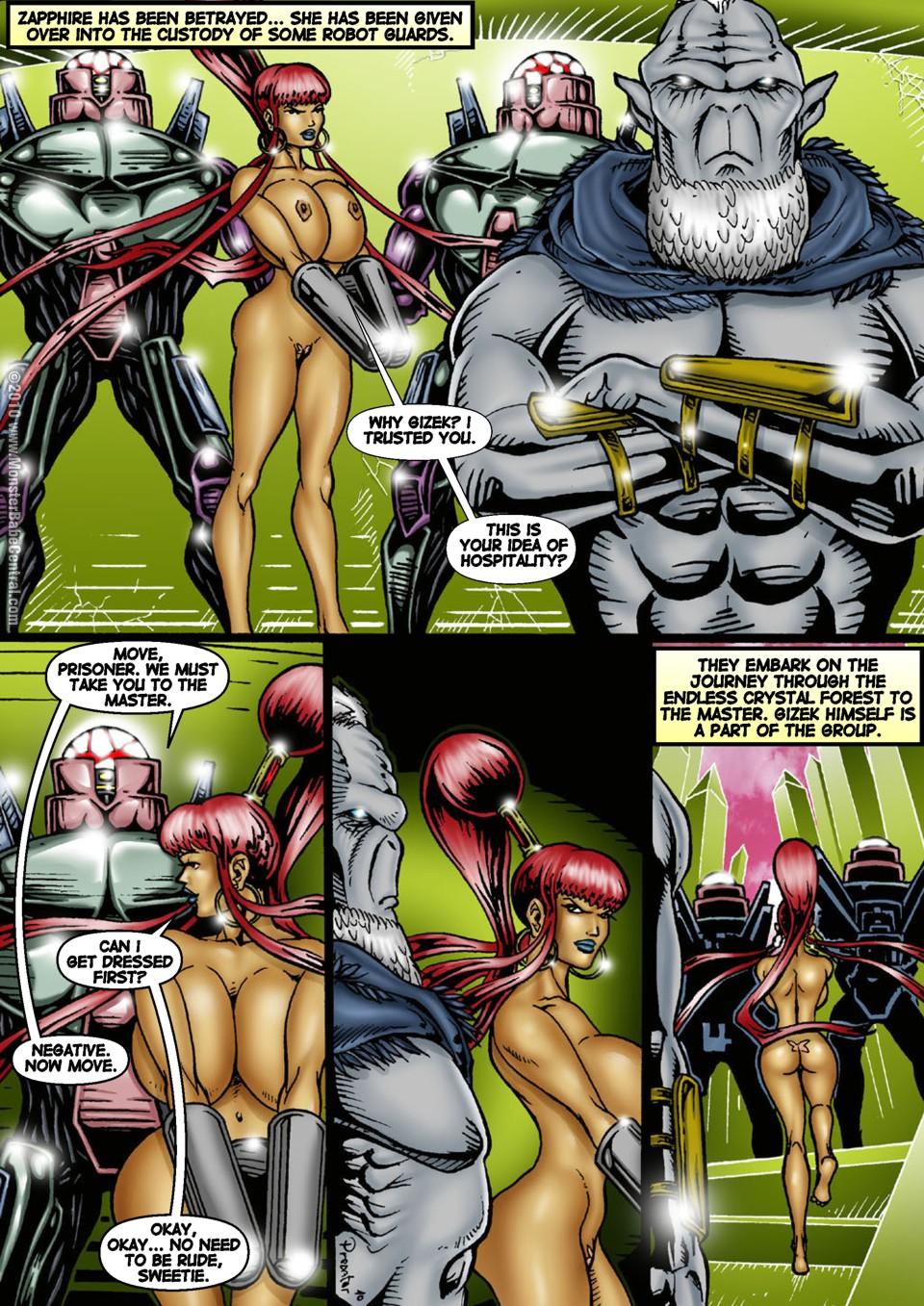 Porn Comics - Alien Huntress 26-30 porn comics 8 muses