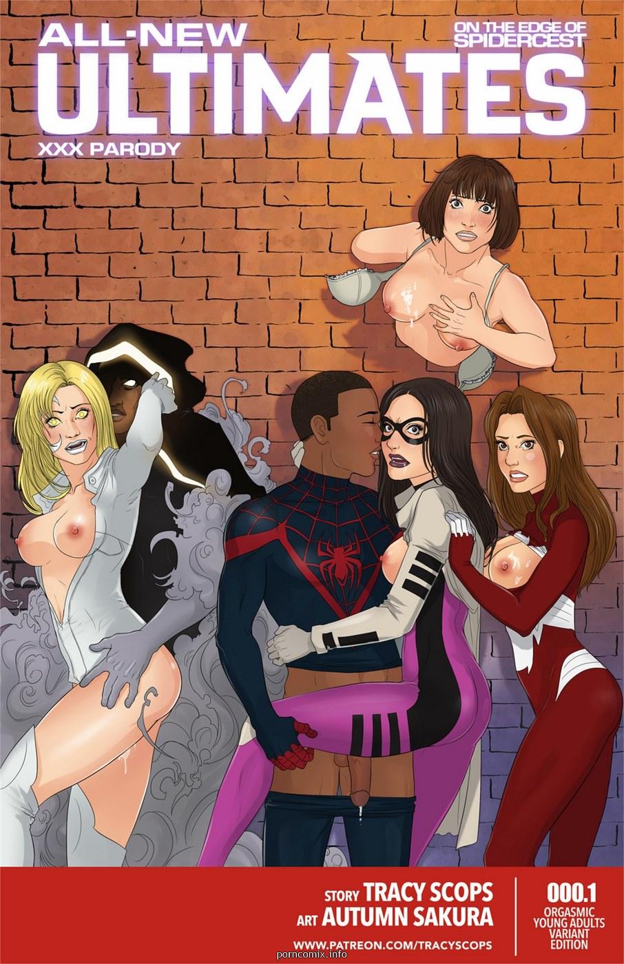 Porn Comics - All new Ultimates- XXX Parody porn comics 8 muses