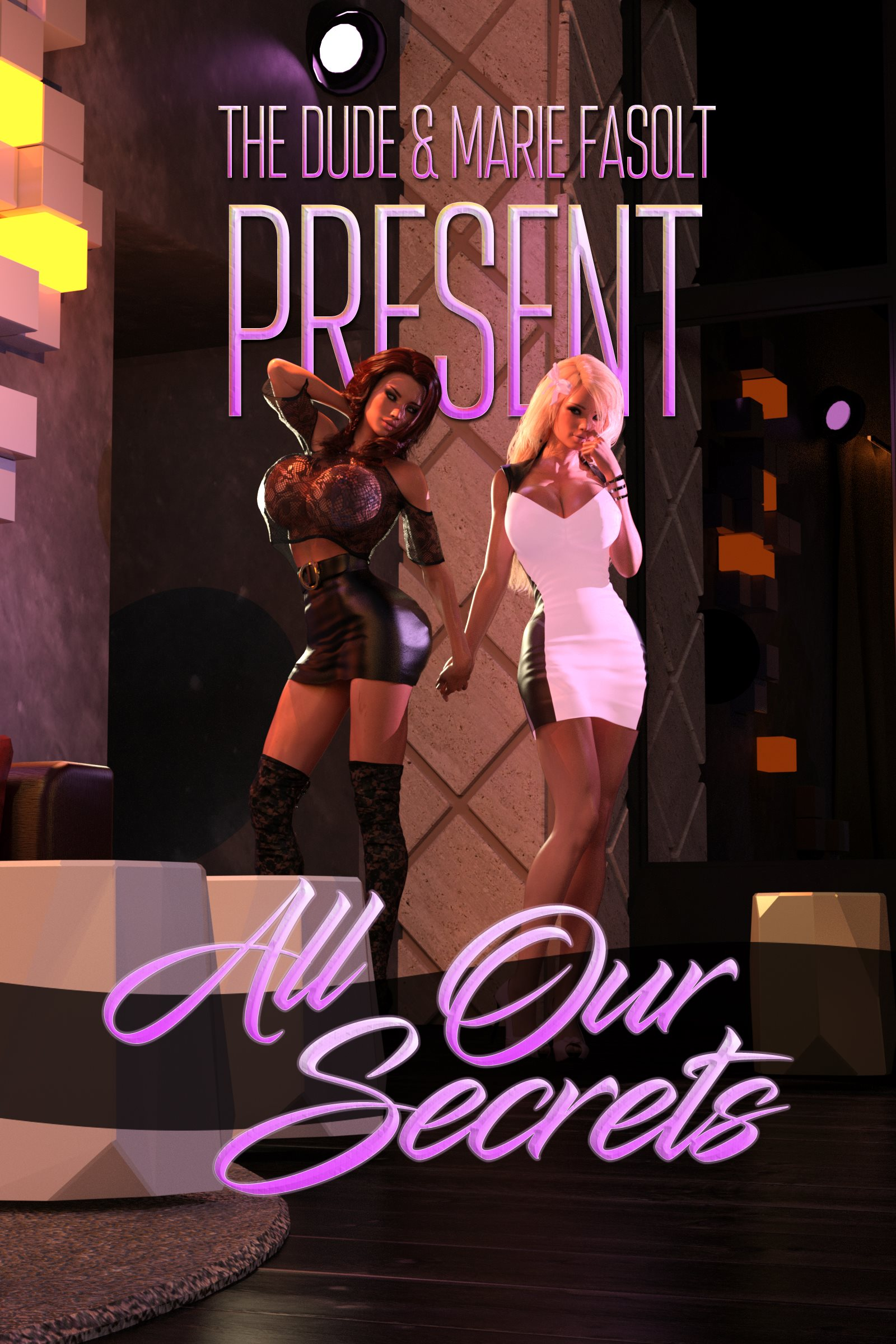 Porn Comics - All Our Secrets- Dude3DX porn comics 8 muses
