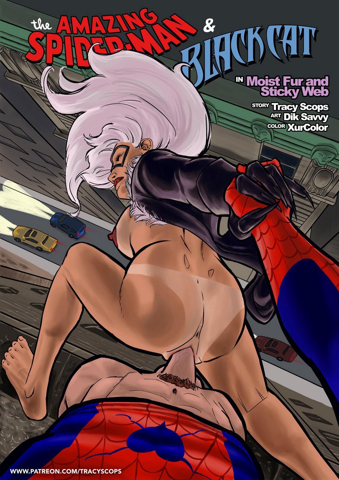 Porn Comics - Amazing Spider-Man and Black Cat porn comics 8 muses