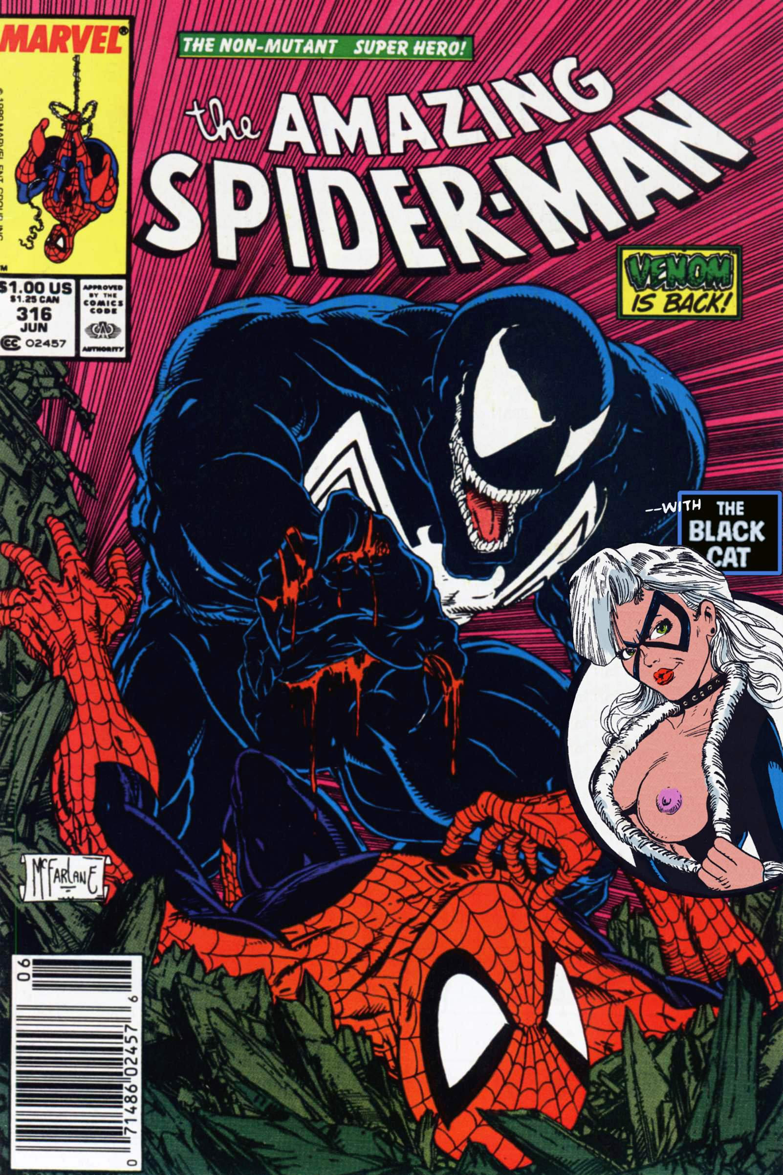 Porn Comics - Amazing Spider-Man- Venom is Back porn comics 8 muses