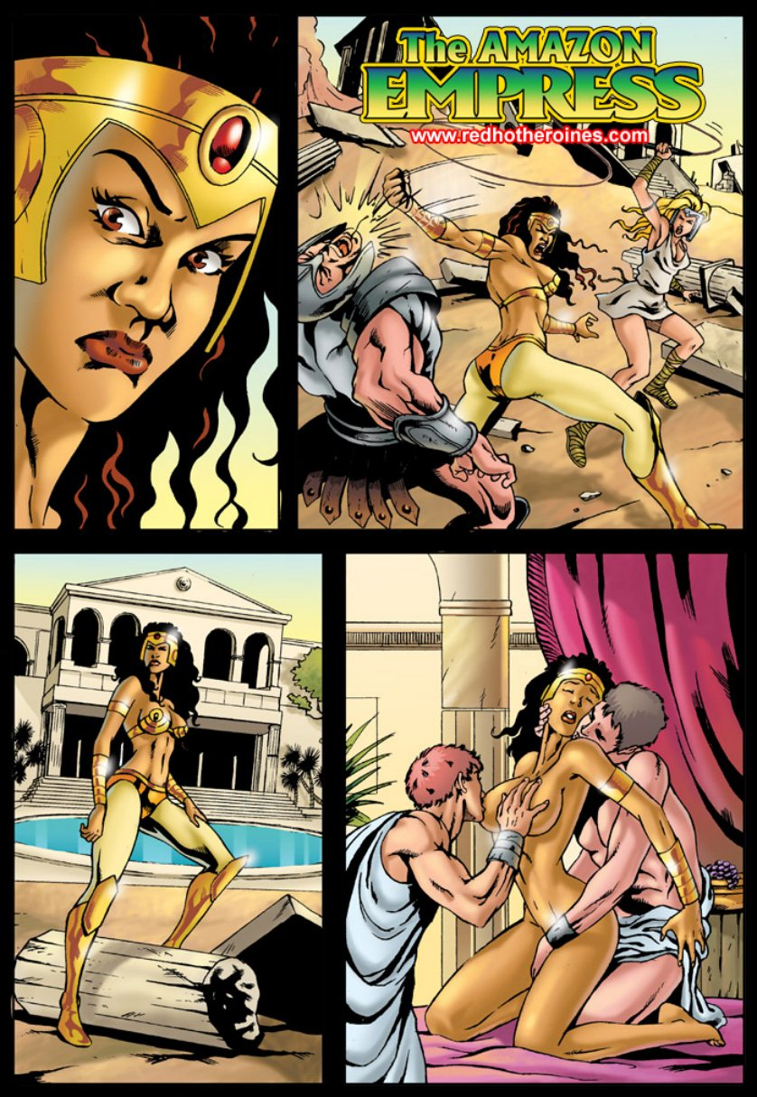 Porn Comics - Amazon Empress Red Hot Heroines porn comics 8 muses