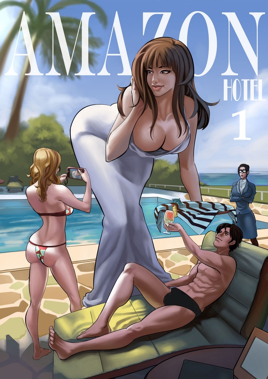 Porn Comics - Amazon Hotel 1- Giantessfan porn comics 8 muses
