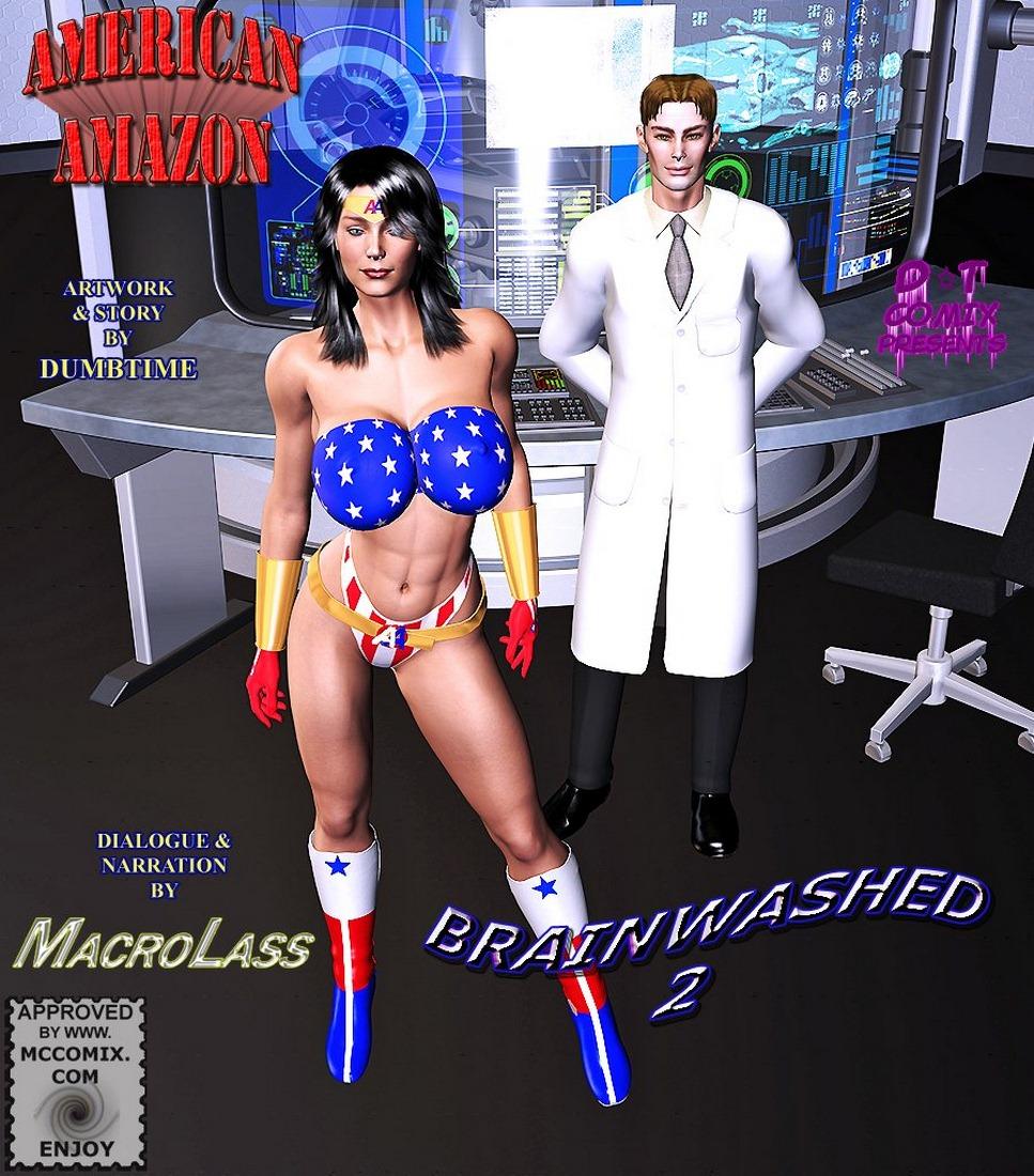 Porn Comics - American Amozan-Brainwashed II – 01 porn comics 8 muses