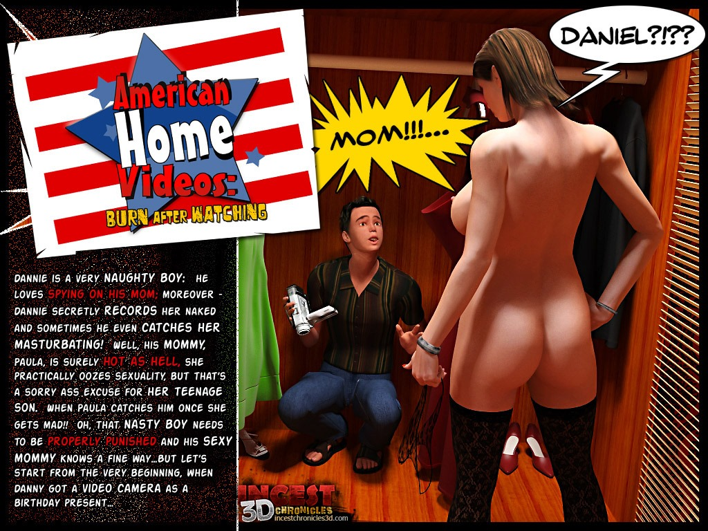 Porn Comics - American Home Video- Incest3DChronicles porn comics 8 muses