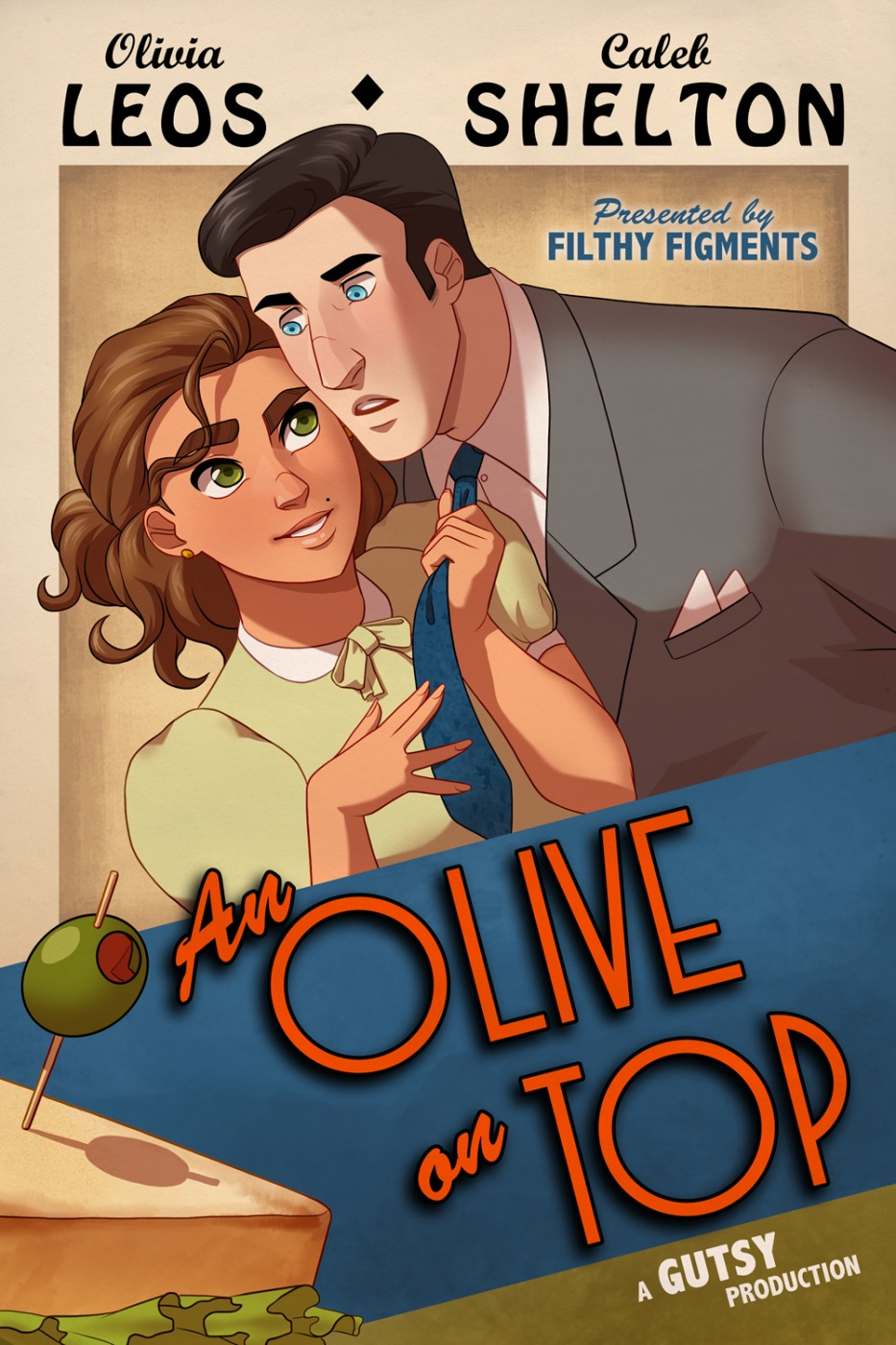 An Olive on Top- Gutsy image 1