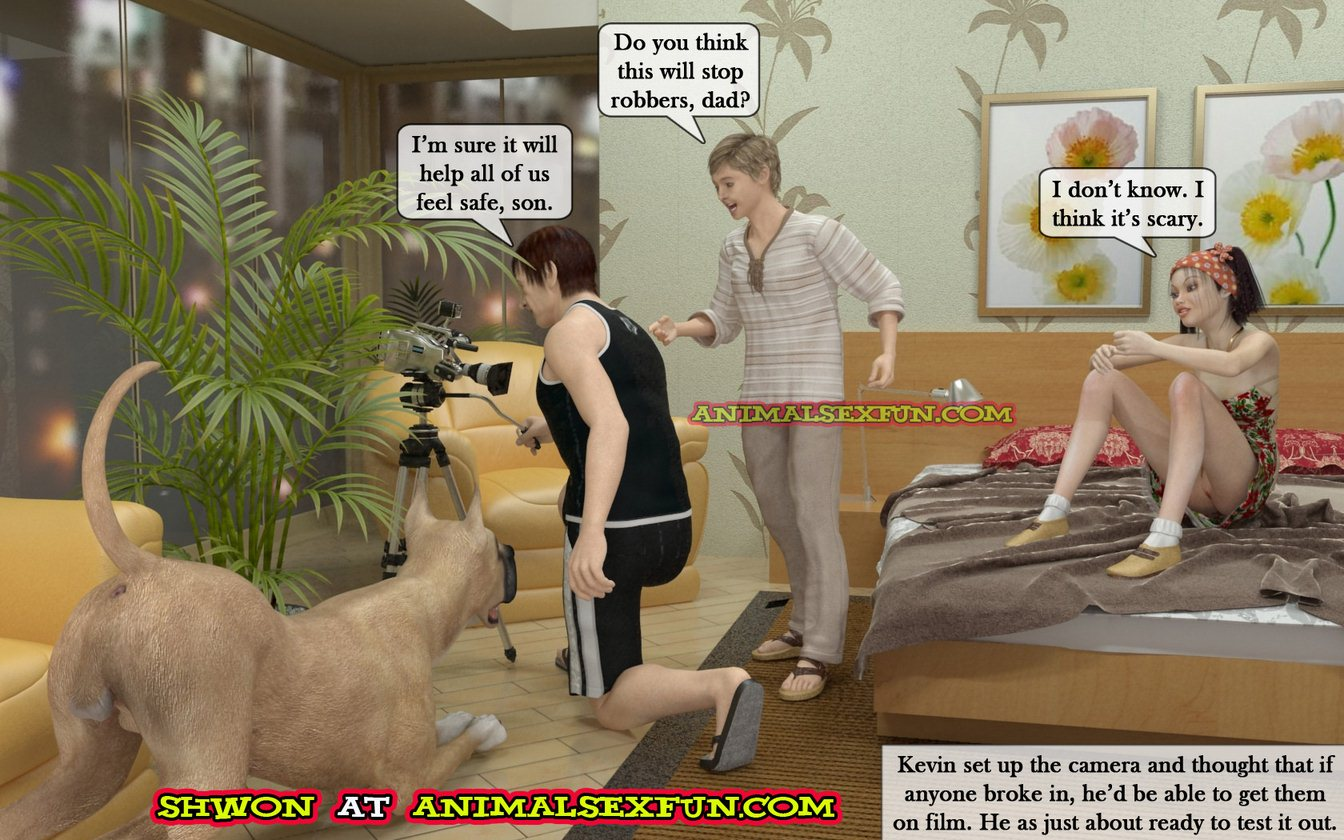 Animal Sex in Incest Family image 01