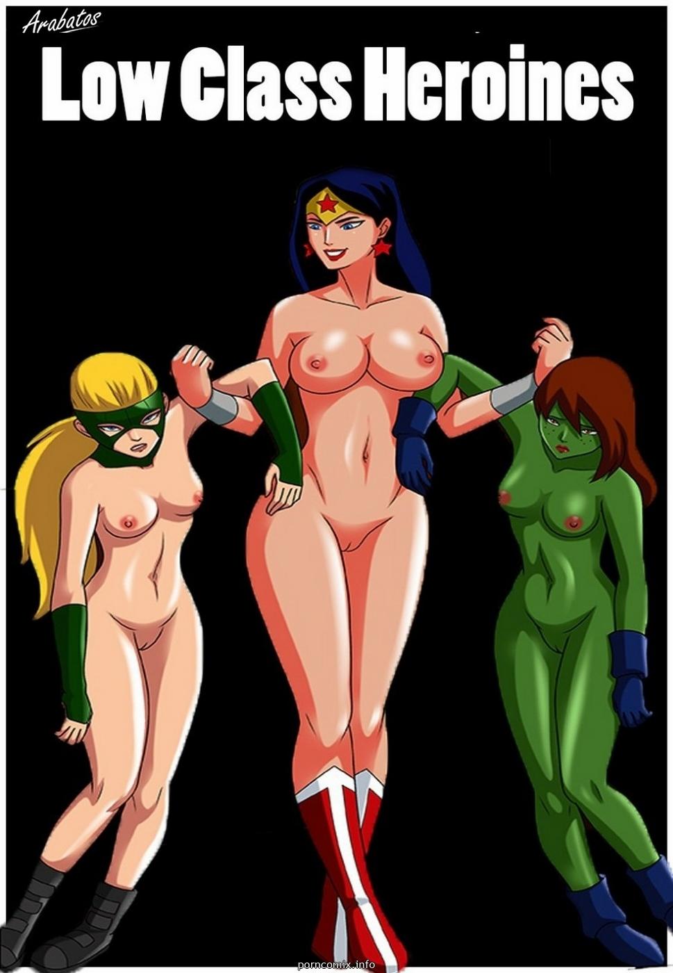 Porn Comics - Low class heroines- Arabatos porn comics 8 muses
