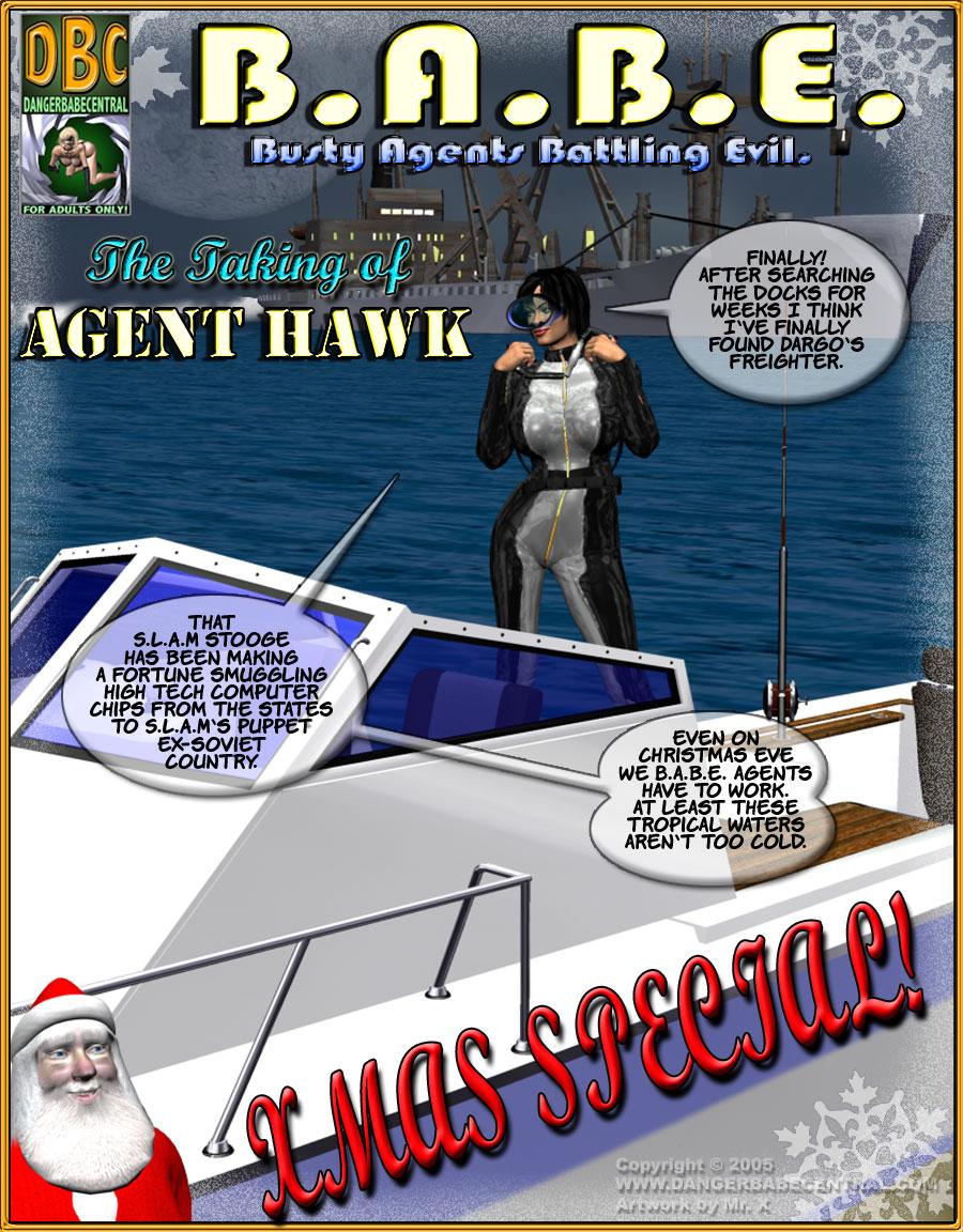 B.A.B.E.- Agent Hawk image 1