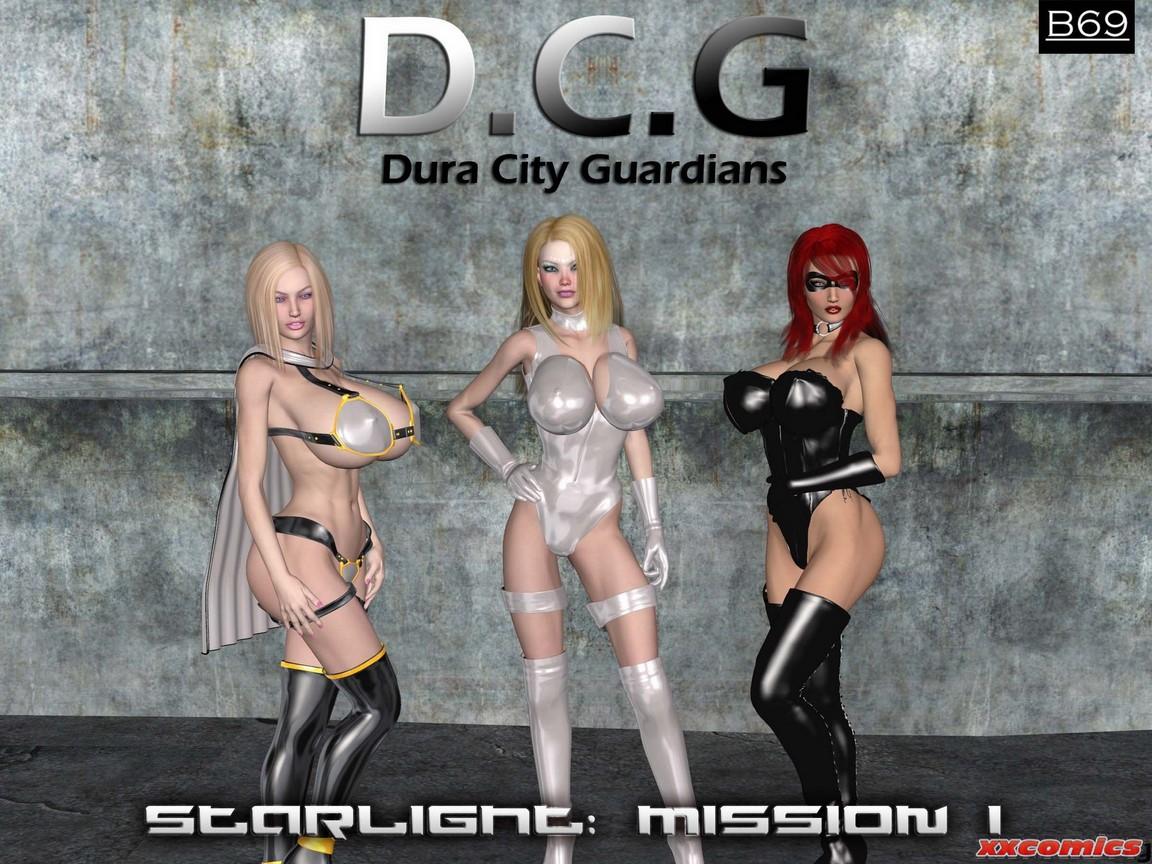 Porn Comics - B69-Starlight Mission One Super Heroine Central porn comics 8 muses