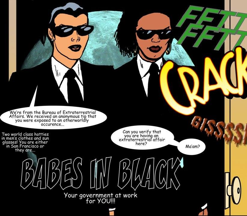 Porn Comics - Babes in black porn comics 8 muses