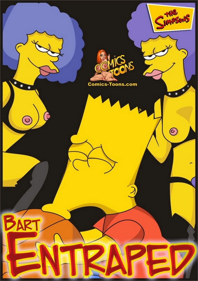 Bart Entrapped- Simpsons image 01