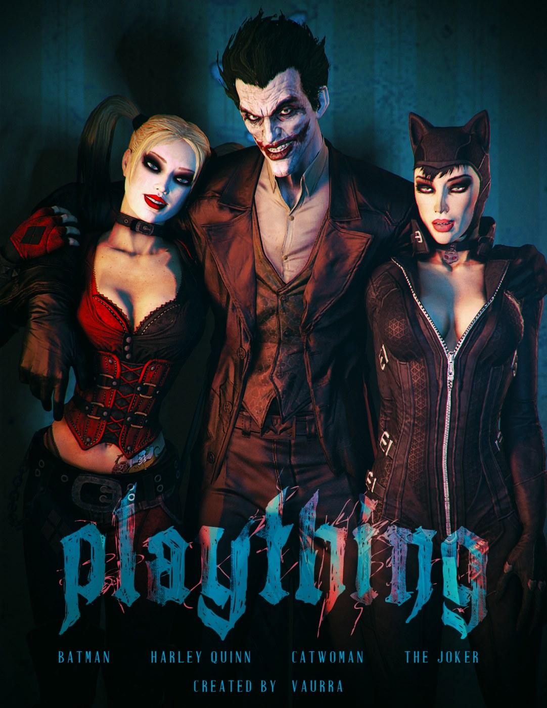 Batman & Harley Quinn- Plaything (Vaurra) image 1