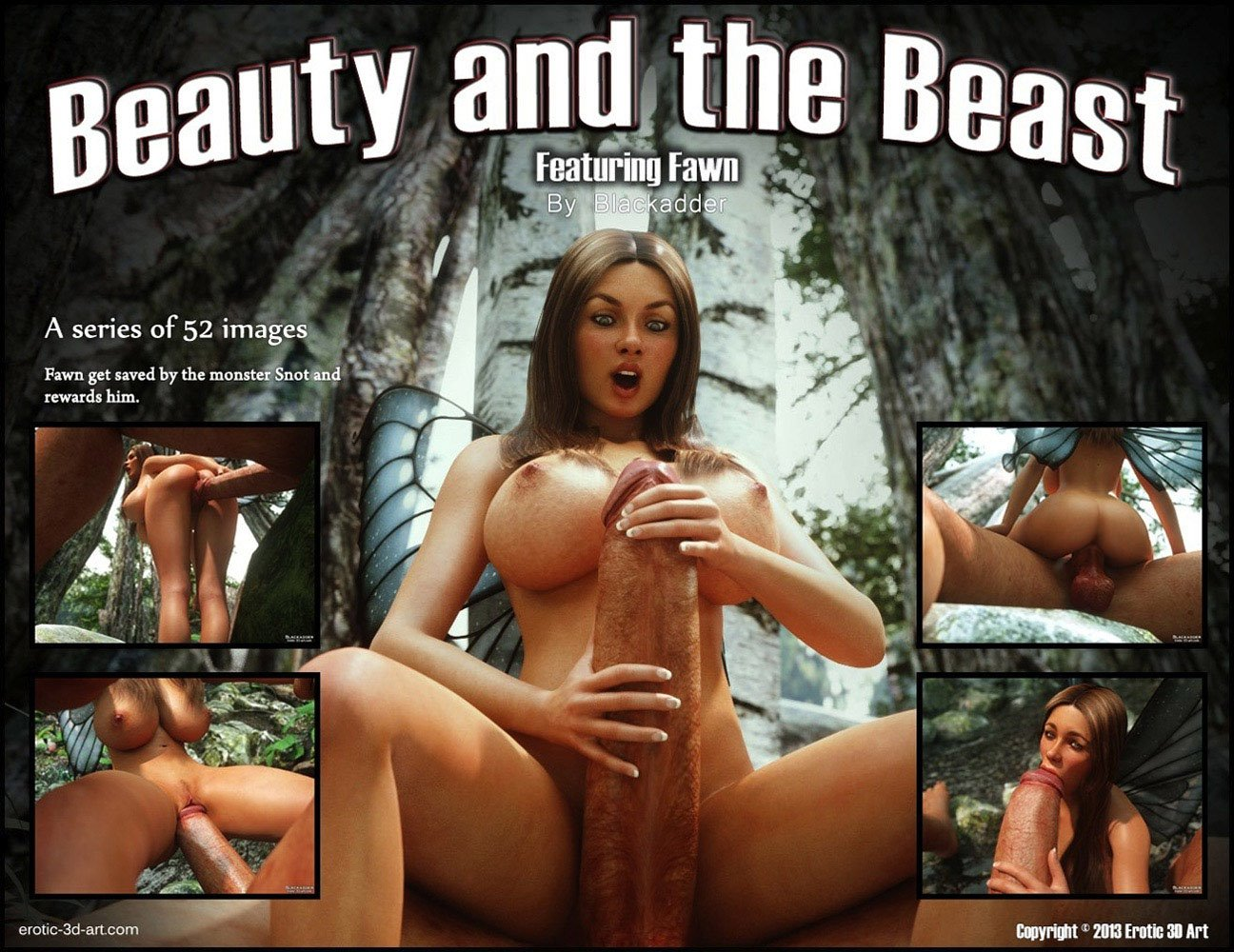 Porn Comics - Blackadder- Beauty And The Beast porn comics 8 muses