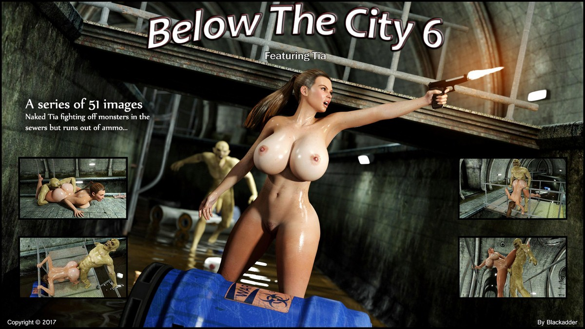 Porn Comics - Below The City 6- Blackadder porn comics 8 muses