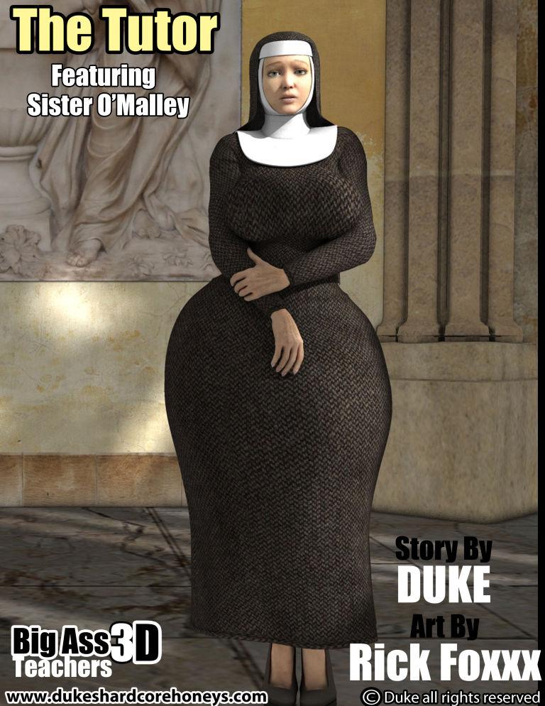 Big Ass3D Teachers-The Tutor 2- Duke Honey image 01