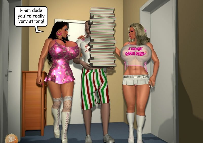 Porn Comics - Two big boobs sluts porn comics 8 muses