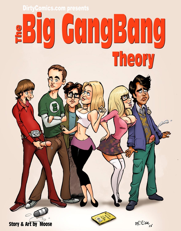 The big gang bang Theory image 1