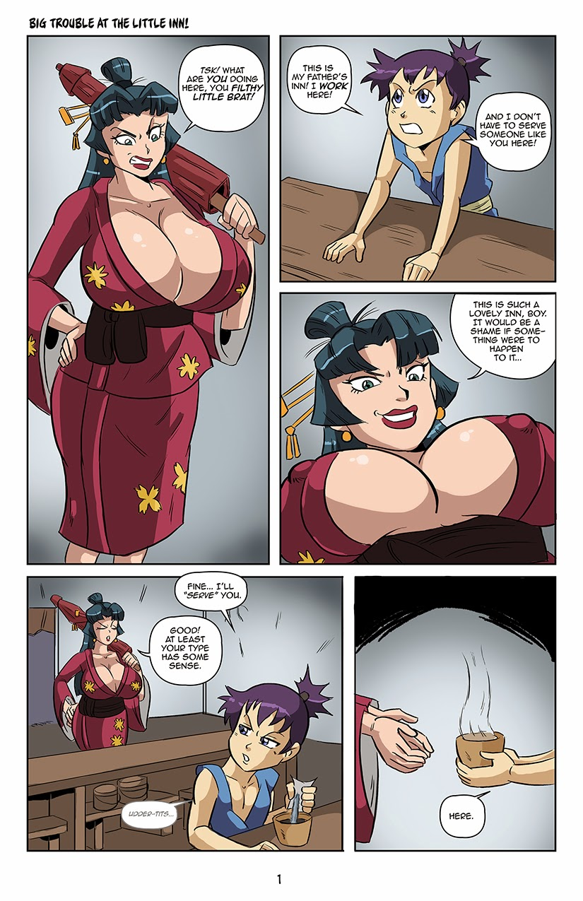 Porn Comics - Big Trouble at the Little Inn porn comics 8 muses