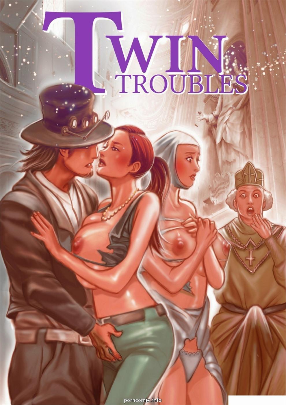 Porn Comics - BigJ – Twin Troubles porn comics 8 muses