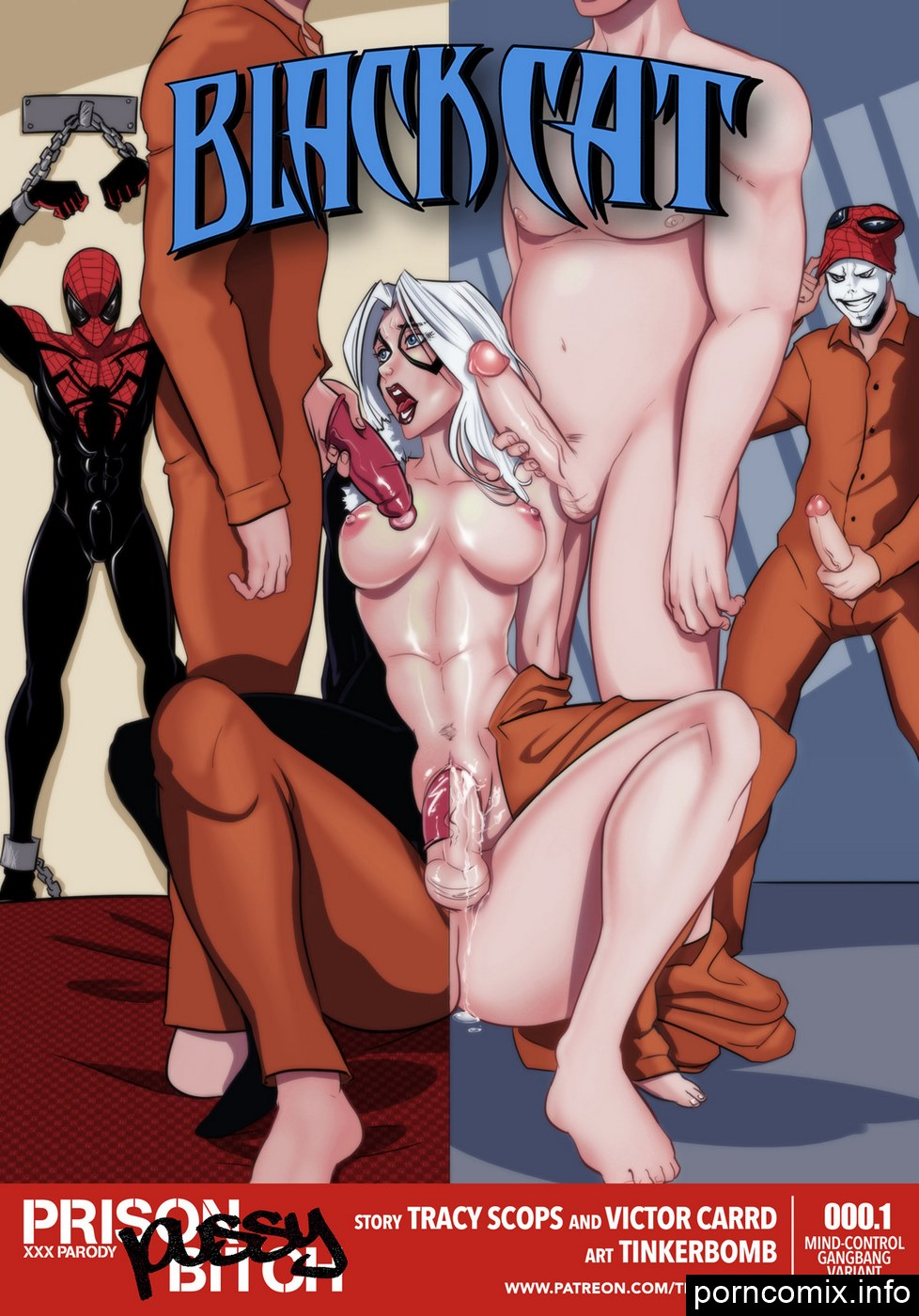 Porn Comics - Black Cat- Prison Bitch, Tracy Scops porn comics 8 muses
