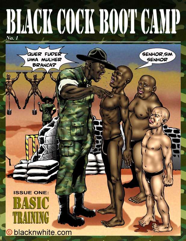Black cock boot camp image 01