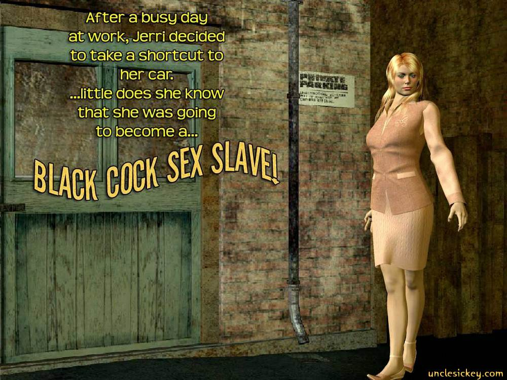 Black Cock Sex Slave- UncleSickey image 1