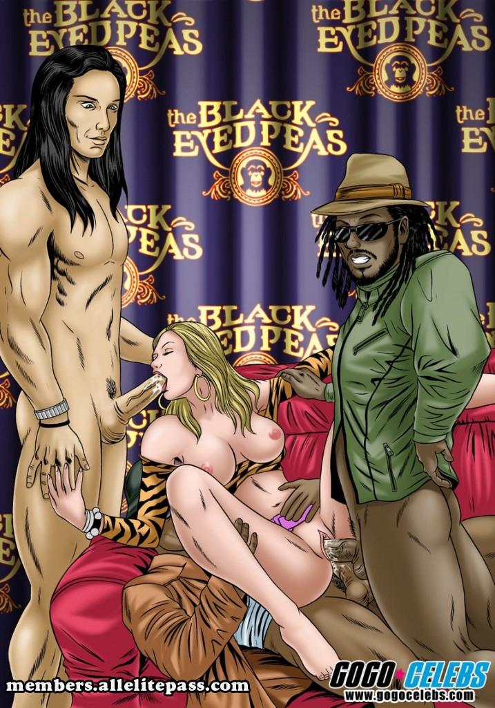 Porn Comics - Black Eyed Peas- GoGo Celeb porn comics 8 muses