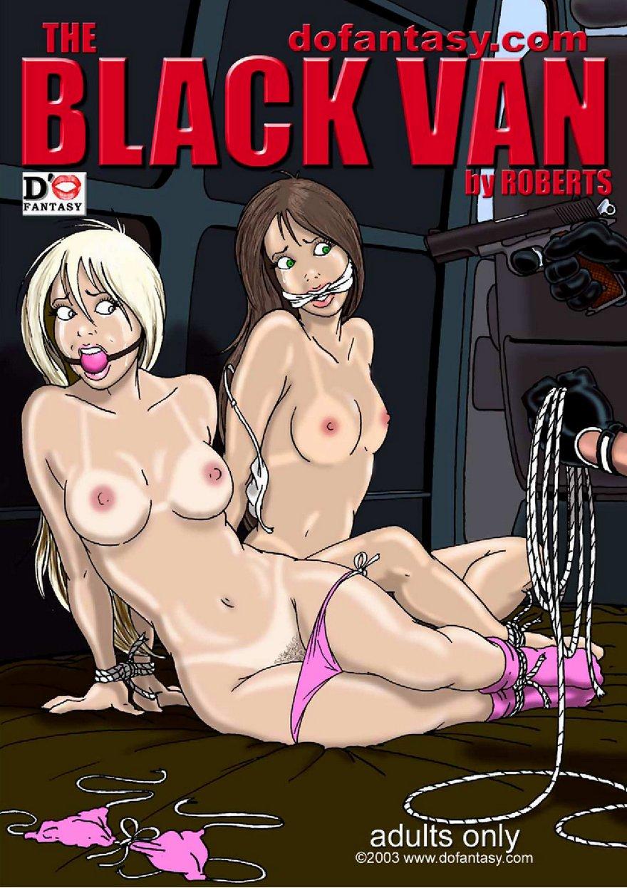Porn Comics - Black Van 1- Gary Roberts porn comics 8 muses