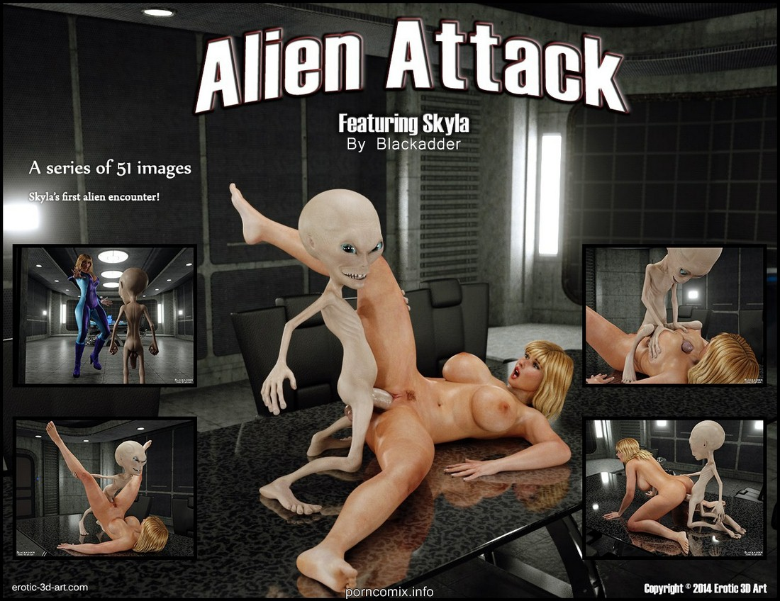 Blackadder-Alien Attack image 01