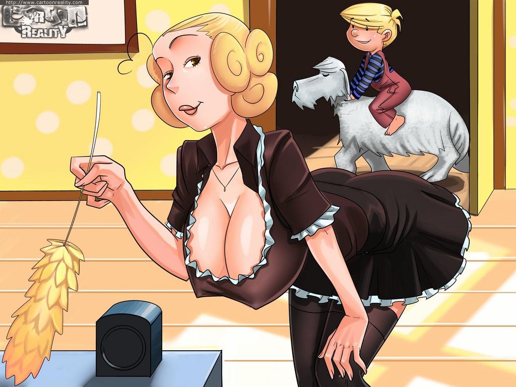 Porn Comics - Blackmailed Seduction- Kaos porn comics 8 muses