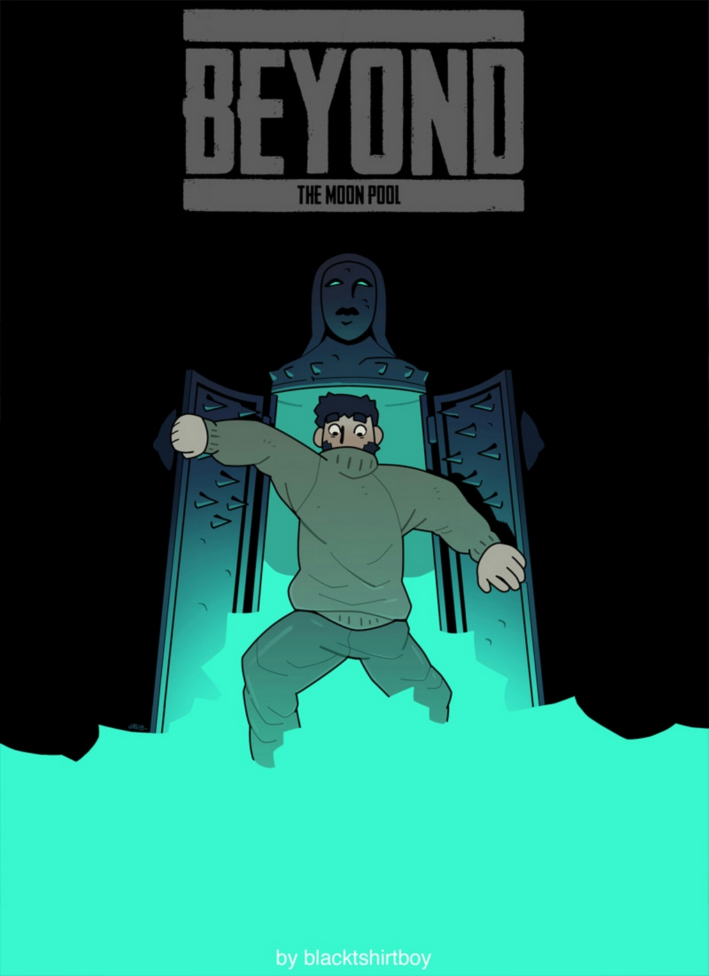 Blacktshirtboy- Beyond The Moon Pool image 1