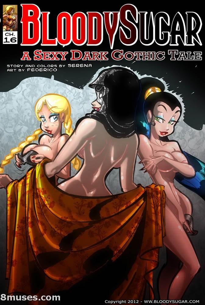 Bloody Sugar 16 -Sexy Dark Gothic Tale image 01