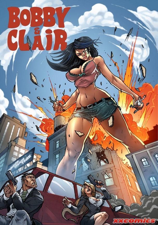 Porn Comics - Bobby and Clair Giantess Fan porn comics 8 muses