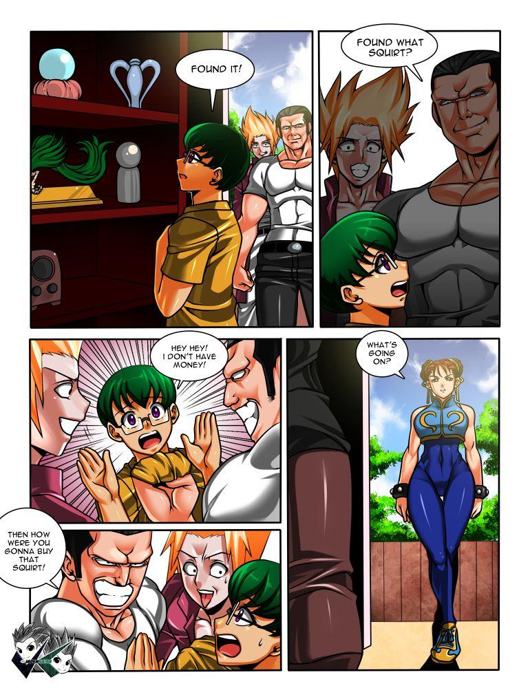 Porn Comics - Chun-Li Body Swap (Street Fighter) porn comics 8 muses